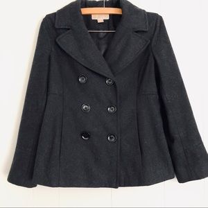 Michael Michael Kors black double breasted jacket